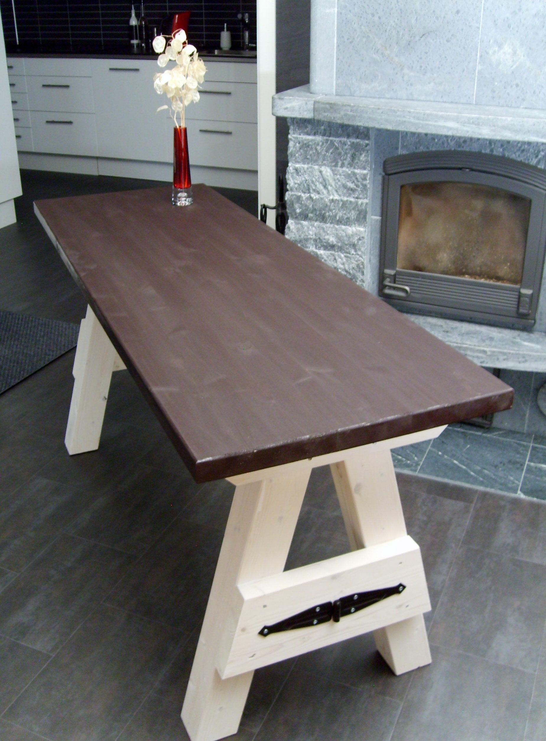 bygga soffbord av plank